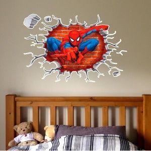 """Spider man wall window decal sticker 36"""""""